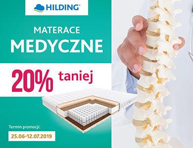 HILDING :: Materace Medyczne 20% taniej