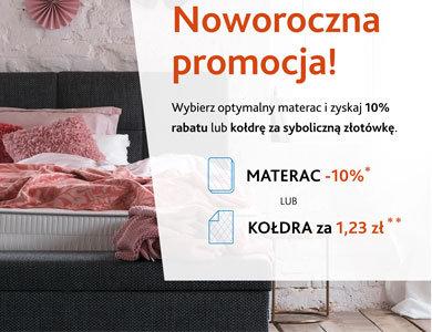 HILDING :: Materace -10% lub Kołdra za 1zł
