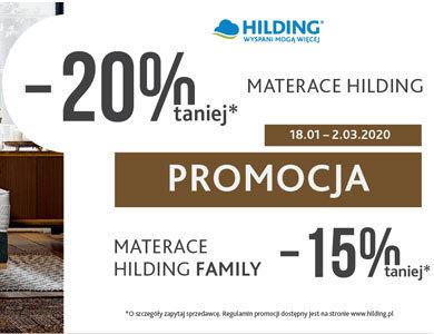 HILDING :: Zimowa promocja -20%