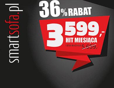 smartsofa.pl Narożnik SAM 36% taniej