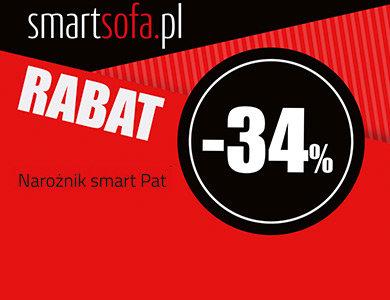 smartsofa.pl Narożnik PAT 34% taniej